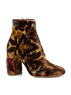 Stella Mccartney brocade booties