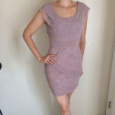 Gorgeous Dress: Reduced Price! BCBG Briana Beautiful Lilac BCBG dress, worn once. Snug but comfortable fit. BCBG Dresses Mini