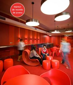 red students lounge