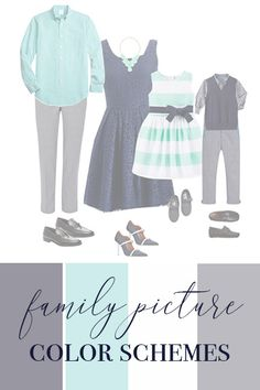 Look though outfit examples in the best colors for outdoor family pictures and dive into tips to make it perfect for YOUR family session!