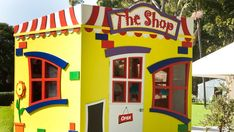 Wouldn't ever kid love this little shop. The ultimate in cubby shop fronts!