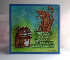 "Tim Holtz: Crazy Dogs, Crazy Cats Dyan Reavely ""Ugh, People!"""