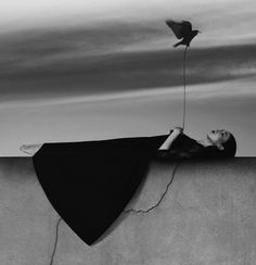 Noell S. Oszvald- 22-Year-Old's Incredibly Artistic Self-Portraits-My Modern Metropolis