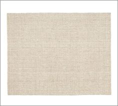 Chunky Wool & Natural Jute Rug | Pottery Barn {for hearth room}