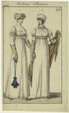 Costume Parisien, Journal des Dames et des Modes, 1806; NYPM 801752