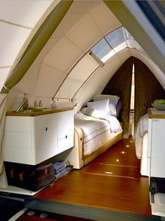 cool tent trailer - outside reminds me of Sydney Opera House