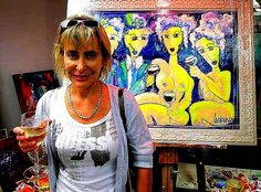 Owner Friends, Artist, Mens Tops, Painting, Amigos, Artists, Painting Art, Paintings, Painted Canvas