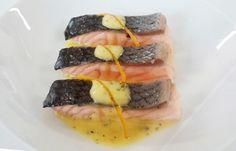 Salmone al vapore con salsa all'arancia | #omega3 #cucina #ricetta