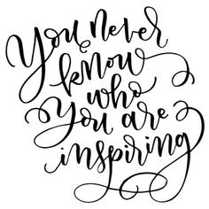 Silhouette Design Store: you never know who you are inspiring