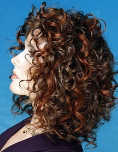 Medium Curly Formal Hairstyle - Dark Brunette Hair Color - hair styles for short hair Short Curly Haircuts, Curly Hair Cuts, Permed Hairstyles, Medium Hair Cuts, Medium Hair Styles, Curly Hair Styles, Natural Hair Styles, Hairstyles 2018, Frizzy Hair