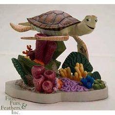 Tetra Disney Aquarium Ornament - Crush from Petstore.com #pet #fish
