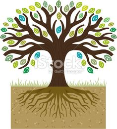 tree with roots iron wall decor - Google Search
