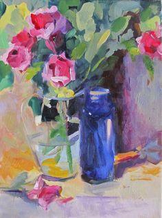 Linda Hunt Fine Art: Roses
