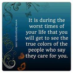 So very true - I`ve lived it