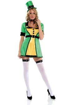 Get the luck of the Irish with this sexy ladies Lucky Charm Costume perfect for St Paddy's Day Celebrations. From our Fairy Tale Costumes range. Irish Costumes, Sexy Halloween Costumes, Irish Halloween, Leprechaun Costume, Fairy Tale Costumes, Beer Girl, Sexy Costumes For Women, Lucky Charm, Clubwear