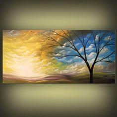 ORIGINAL abstract painting art original abstract by mattsart