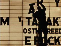 William Klein, Broadway by light, 1958 (short film).