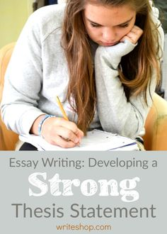 Developing a strong thesis statement results in a condensed and carefully thought-out argument that will define, guide, and set the tone for an essay.