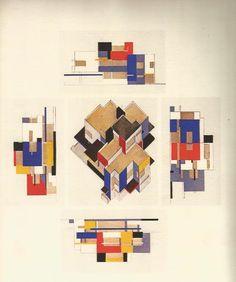 theo van doesburg maison particulière 1922-23