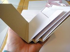envelope accordion mini book