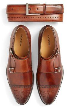 Magnanni 'Catalux' Belt - Colour: Cognac