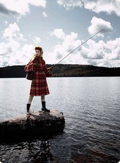 Wearing tartan today and trying to catch the fish of the day for the Robert Burns Supper tonight. What poem shall I read?