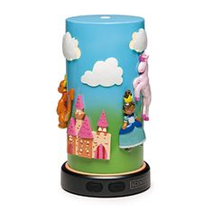 Step inside an enchanted world, where a princess tames a darling dragon as her prince guards the castle. Or maybe they all enjoy a picnic in the meadow? The options are endless with colourful