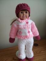 "Snow Days - 18"" doll - Image Intenese - Free Original Patterns - Crochetville"