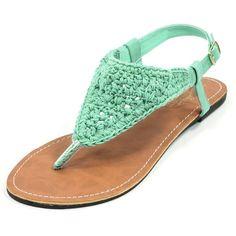 Crochet Thong Sandal
