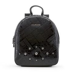 Shop love moschino black studs appliques rucksack backpack at Fashiontage. Give your online shopping a new twist with stylish women's bags/backpacks from Fashiontage. Cristiano Ronaldo Underwear, Moschino Bag, What's In Your Bag, Black Leather Backpack, Rucksack Backpack, Fashion Backpack, Nike Women, Backpacks, Bags