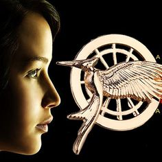 The Hunger Games Mockingbird Vintage Brooch Pins
