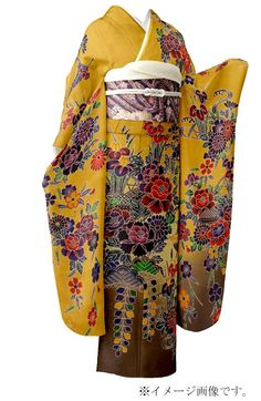 Furisode, this is a particularly beautiful one.  For single ladies