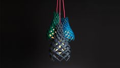 Plumen's 3D Printed Ruche Shades Combine Beauty with Practicality - Design Milk