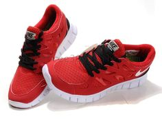 Red Nike sneakers?...  Maybe.