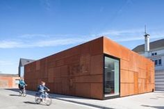 City Library Brugia, Brugia, Belgia, 2015 - Apartament typu Studio Farris Architekci