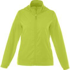 Elevate Women's Hi-Liter Green Darien Packable Jacket