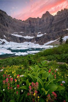 Glacier National Park's Iceberg Lake