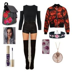 """""""my break"""" by littleveru on Polyvore featuring Mulberry, Luna Skye, OneTeaspoon, Kate Spade and Too Faced Cosmetics"""