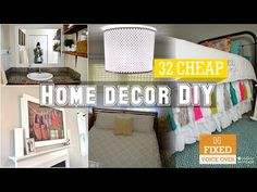32 Cheap home decor DIY ideas [New V.O] - YouTube