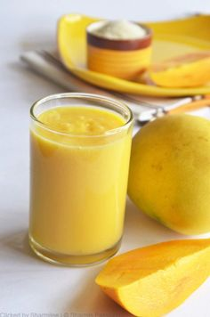 Refreshing mango smoothies are a summer must