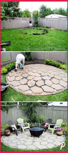Simple and Easy Landscaping Ideas and Garden Designs, Draw Cheap Pool Landscapes . Simple And Easy Landscaping Ideas And Garden Designs, Drawing Cheap Pool Landscaping Ideas For Backyard, Front Yard Landscaping Ideas, Low Maintenance. Budget Patio, Diy Patio, Backyard Patio, Fire Pit Backyard, Backyard Seating, Backyard Privacy, Backyard Layout, Backyard Playground, Privacy Trees