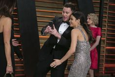 Channing Tatum and Jenna Dewan-Tatum: proof even celebs can look ridiculous taking selfies. See 90 more examples.