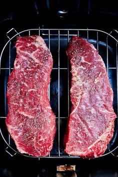 Air Fryer Recipes Steak, Air Fryer Dinner Recipes, Air Fryer Recipes Easy, Easy Recipes, Snacks Recipes, Air Fryer Cooking Times, Cooks Air Fryer, Atkins, Air Fry Steak