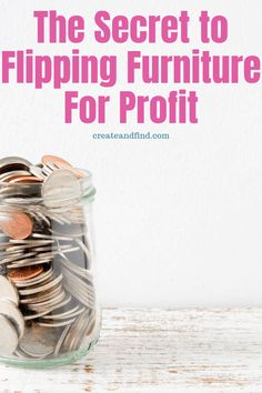 The best secrets to flipping furniture for profit - I'll show you how to get started, expected costs, what to buy, where to buy it, and how to market your furniture flips to make the most money Flip Furniture For Profit, Selling Furniture, Small Furniture, Refurbished Furniture, Handmade Furniture, Repurposed Furniture, Furniture Projects, Furniture Makeover, Furniture Decor