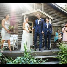 One year today. Happy anniversary to my best friend  @jadewaltn #evenifshehasakangaroopawhand #timeflies #lorne #wedding #beachwedding #whiteweddinglorne @briggins_clothiers #jarrodandzoe by whoismisterfox http://ift.tt/1IIGiLS