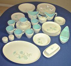57 Pcs Taylor Smith Taylor China Set EVER YOURS by PorcelainPalace, $160.00