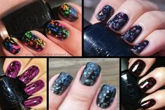 Special effects top coats--like holographic, crackle, and sparkle--are now a nail polish aisle staple, with everyone from Essie to Deborah Lippmann r