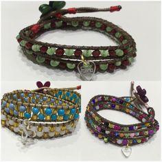 Wrap bracelet jewelry fashion moda hand made hecho a mano en Venezuela Fasna  accesories 🇻🇪 pulseras accesorios bijou joyas