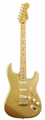 50th Anniversary Gold Fender Stratocaster