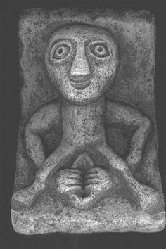 Sheila Na Gig - Celtic fertility Goddess.Sheila Na Gig opens her womb to give…